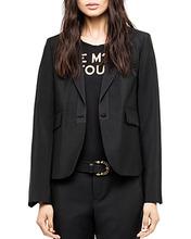 Zadig & Voltaire | Zadig & Voltaire Vistaro Menswear-Style Blazer | Clouty