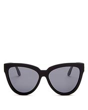 Le Specs | Le Specs Women's Polarized Cat Eye Sunglasses, 57mm | Clouty