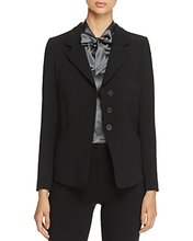 Armani Collezioni | Armani Collezioni Three-Button Blazer | Clouty