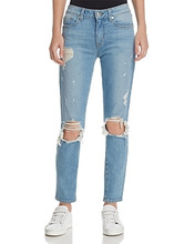 Derek Lam 10 Crosby | Derek Lam 10 Crosby Devi Mid-Rise Authentic Skinny Jeans in Light Wash | Clouty