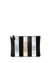 Clare V. | Clare V. x Story Flat Leather Clutch | Clouty