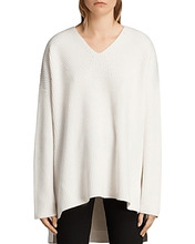 AllSaints | Allsaints Clea Slouchy V-Neck Sweater | Clouty