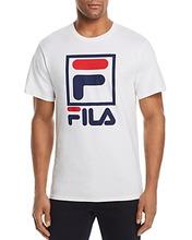 FILA | Fila Stacked Logo Crewneck Tee | Clouty