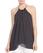 Halston Heritage | Halston Heritage Ruched Printed Cami | Clouty