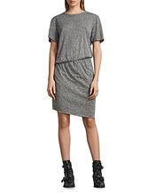 AllSaints | Allsaints Nandi Flame Asymmetric Tee Dress | Clouty