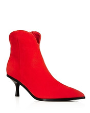 Sigerson Morrison | Sigerson Morrison Women's Hayleigh Suede Kitten-Heel Booties | Clouty