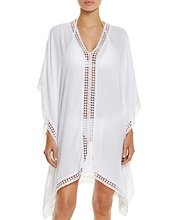 Tommy Bahama | Tommy Bahama Lace Trim Tunic Swim Cover-Up | Clouty