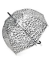 Hunter | Hunter Leopard Print Bubble Umbrella | Clouty