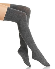 Wolford | Wolford Joan Metallic Over-the-Knee Socks | Clouty