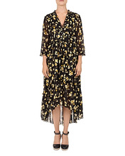 The Kooples | The Kooples Golden Leaves Midi Dress | Clouty