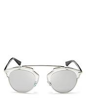 Dior | Dior Women's So Real Mirrored Sunglasses, 48mm | Clouty