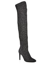 Giuseppe Zanotti   Giuseppe Zanotti Women's Stretch Glitter Over-the-Knee Boots   Clouty
