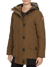 CANADA GOOSE | Canada Goose Finnegan Shearling Trim Down Parka | Clouty