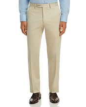 The Men's Store At Bloomingdale's | The Men's Store at Bloomingdale's Classic Fit Stretch Cotton Dress Pants - 100% Exclusive | Clouty
