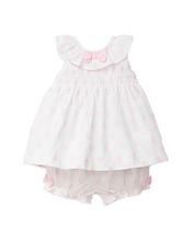 Little Me | Little Me Girls' Textured Dot 2-Piece Sunsuit - Baby | Clouty