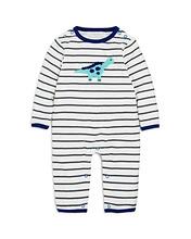 Albetta | Albetta Boys' Crochet-Dino Striped Coverall, Baby - 100% Exclusive | Clouty