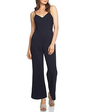 1. State | 1.state Pinstripe Flare Jumpsuit | Clouty