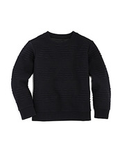 Armani Junior | Armani Junior Boys' Raised-Logo Sweater - Little Kid, Big Kid | Clouty