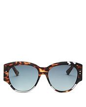 Dior | Dior Women's Lady Studded Round Sunglasses, 55mm | Clouty