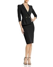 Elisabetta Franchi | Elisabetta Franchi Asymmetric Suit Dress | Clouty