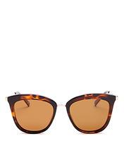 Le Specs | Le Specs Women's Polarized Cat Eye Sunglasses, 53mm | Clouty