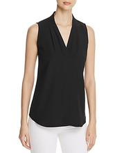 Calvin Klein | Calvin Klein V-Neck Sleeveless Blouse | Clouty