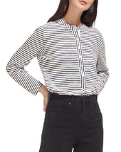 Whistles | Whistles Striped Jersey Shirt | Clouty