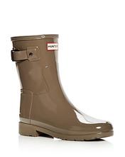 Hunter | Hunter Women's Original Refined Short Gloss Rain Boots | Clouty