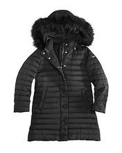 Armani Junior | Armani Junior Girls' Down Coat with Faux-Fur Trim - Big Kid | Clouty