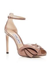 Jimmy Choo   Jimmy Choo Women's Karlotta 100 Leather High-Heel Sandals   Clouty