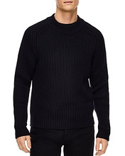 Sandro | Sandro Uni Virgin wool Crewneck Sweater | Clouty