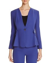 Armani Collezioni | Armani Collezioni Button-Front Jacket | Clouty