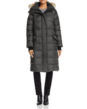 CANADA GOOSE | Canada Goose Lunenberg Fur Trim Long Down Coat | Clouty