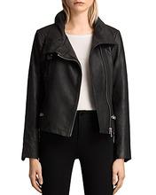 AllSaints | Allsaints Bales Leather Biker Jacket | Clouty
