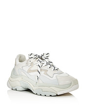 ASH | Ash Women's Addict Leather Lace Up Sneakers | Clouty