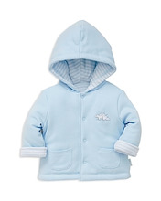 Little Me | Little Me Boys' Reversible Dino Jacket - Baby | Clouty