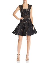 Bronx And Banco | Bronx And Banco Mishka Floral Lace Dress | Clouty