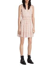 AllSaints | Allsaints Annie Lanai Ruffled Floral Print Dress | Clouty