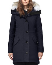 CANADA GOOSE | Canada Goose Rossclair Fur Trim Down Parka | Clouty