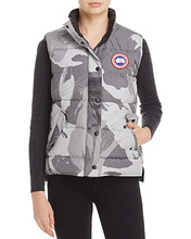 CANADA GOOSE | Canada Goose Freestyle Camo Down Vest | Clouty