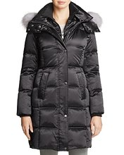 Andrew Marc | Andrew Marc Leven Fur Trim Down Coat | Clouty