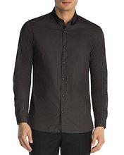 The Kooples | The Kooples Micro Graphics Slim Fit Button-Down Shirt | Clouty