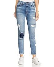 Derek Lam 10 Crosby | Derek Lam 10 Crosby Tali High-Rise Authentic Skinny Jeans in Medium Wash | Clouty