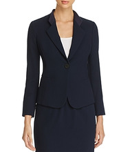 Emporio Armani | Emporio Armani Single-Button Fitted Blazer | Clouty