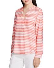 Calvin Klein | Calvin Klein Striped Button-Down Blouse | Clouty