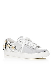 Marc Jacobs | Marc Jacobs Women's Daisy Embellished Patent Leather Lace Up Sneakers | Clouty