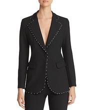 Emporio Armani | Emporio Armani Studded Single-Button Blazer | Clouty