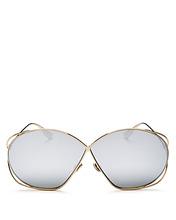 Dior | Dior Women's Stellaire2 Mirrored Square Sunglasses, 68mm | Clouty