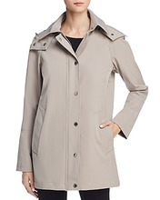 Calvin Klein | Calvin Klein Hooded Raincoat | Clouty