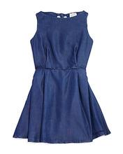 Armani Junior | Armani Junior Girls' Sleeveless Denim Dress with Back Heart Cutouts - Big Kid | Clouty